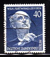 Germany - Berlin Used Scott #9N115 40pf Wilhelm Furtwangler, Conductor - Musique