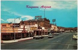 Kingman, AZ - Looking East On Highway 66 - Route '66'