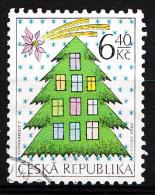 Tchéquie 2002  Mi.nr.: 336  Weihnachten  Oblitérés / Used / Gestempeld - Tchéquie