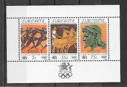 Suriname BF JO 84 ** - Summer 1984: Los Angeles