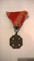 "MEDAL, ""VITAM ET SANGVINEM"" YEAR 1916, Karl Troop Cross-Karl-Truppenkreuz - Autriche"