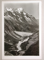 Courmayeur - Val Veni, Dente De Gigante M. 4014 E Grandes Jorasses M. 4206 - Italia