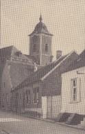Mollem - Kerk en straat - Zeldzaam !!