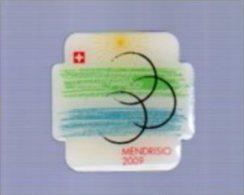JAN16   72913      Mendrisio 2009  Championat Du Monde De Cyclisme   ( Pin's ) - Cyclisme