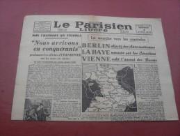 Le Parisien  Libéré  Mercredi 4 Avril  1945 - Magazines & Papers