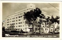 Real Photo - Shangri-la Hotel, Santa Monica, Calif 1952 - Alberghi & Ristoranti