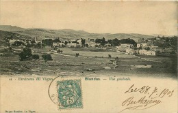 CPA Du GARD   BLANDAS PRECURSEUR VUE GENERALE Environ Du Vigan Voyagée Le 28/7/1905 - Non Classés
