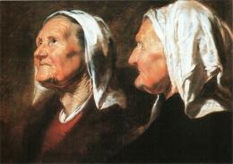 CPM 54 Nancy - Musée Des Beaux-Arts. Deux Têtes De Vieille Par Jacob Jordaens TBE - Nancy