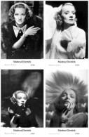 MARLENE DIETRICH - Film Star Pin Up - Publisher Swiftsure Postcards 2000 SET 125-28 - Artistes