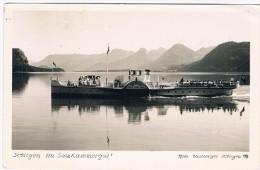 Ö-2809   SANKT GILGEN : Mit Raderboot Kaiser Franz Josef I - St. Gilgen