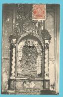 "150 Op Kaart "" Ruines De Louvain / L'Eglise Saint-Pierre "" Met Stempel LOUVAIN 1F LEUVEN - 1918 Red Cross"