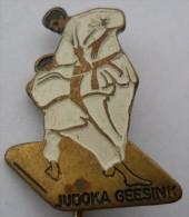 JUDOKA GEESINK JUDO PINS BADGES  Z - Judo