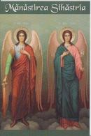 Neamt - Sihastria Monastery - Saint Archangels Michael And Gabriel - Unused,perfect Shape - Saints