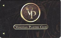 Venetian Casino Las Vegas 1st Issue Slot Card With 1-888-2VENICE Phone#  (Blank) - Casino Cards