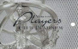 Venetian Casino Las Vegas 5th Issue Players Club Platinum Slot Card - 8mm Mag Stripe (Blank) - Casino Cards