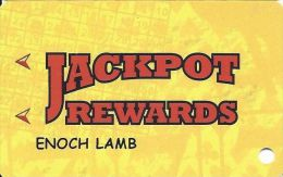 Jackpot Crossing Casino Carson City NV Slot Card With NO Reverse Logo (Printed) - Casino Cards