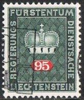 Liechtenstein SG O503 1969 Official 95r Good/fine Used - Liechtenstein
