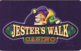 Jesters Walk Casino Mathews, LA - Slot Card - Casino Cards
