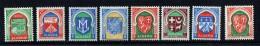 1956  Armoiries Des Villes Yv 337-337F, 353 * - Algerien (1924-1962)