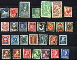 Groupe De 29 Timbres Neufs * Et ** - Algérie (1924-1962)