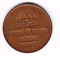 1970 Sweden 5  Ore Coin - Sweden