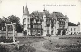 Pourville - Grand-Hôtel Et Casino - Carte N°81, Non Circulée - Andere Gemeenten