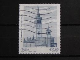 ITALIA USATI 2008 - CAMPANILE TREVIGLIO - SASSONE 3053 - RIF. G 2076 - 1^ SCELTA - 6. 1946-.. Repubblica