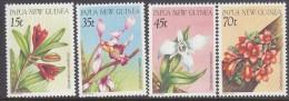 PAPUA NEW GUINEA, 1986 ORCHIDS 4 MNH - Papua Nuova Guinea