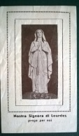 SANTINO N.S. DI LOURDES SANTUARIO N.S. DI LOURDES  MESSINA - Imágenes Religiosas