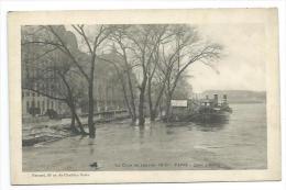 75/ PARIS.. INONDATIONS De PARIS 1910... Quai D'Orsay - Alluvioni Del 1910