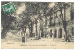 Lorgues - Bd De La République Et La Mairie - Lorgues