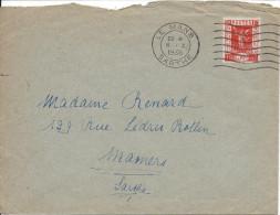 Lettre De France N°325 Sur Lettre - 1921-1960: Modern Period