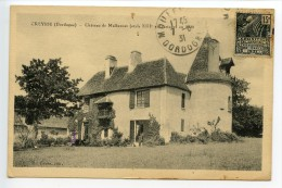 Creysse Château De Malbernat Restauré En 1920 - Autres Communes