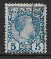 Monaco Oblitérér, No: 3, Y Et T, Coté 50 Euros, 1885, USED - Monaco