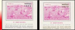 Rwanda BL 031/31A**  Naples Surchargé Or Et Argent  MNH - 1970-79: Neufs