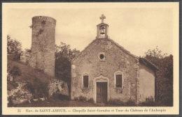Env. De SAINT- AMOUR. - Chapelle Sain-Garadoz Et Tour Du Château De L'Aubespin - Sin Clasificación