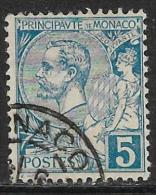 Monaco Oblitérér, No: 13, Y Et T, Coté 8 Euros, 1891, USED - Monaco