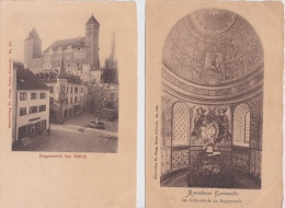 RAPPERSWILL   -( SG )   - 4  CPA  DIVERSES - SG St. Gall