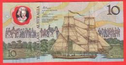 AUSTRALIE - 10 Dollars En Polymère  De 1988 - Pick 49b - Emissions Gouvernementales Décimales 1966-...