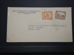 COLOMBIE - Enveloppe De Barranquilla Pour La France En 1938 - A Voir - Lot P14702 - Colombie
