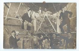 """Dirigeable Le """"Lebaudy"""" à Toul En 1905 - Carte-Photo - Dirigeables"""