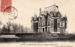 CPA  -    ENVIRONS DE MONTMIRAIL   -   CHATEAU DE BEAUMONT - Montmirail