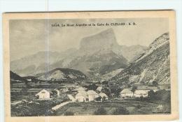 CLELLES - La GARE - Vue Générale  Et Mont Aiguille -  2 Scans - Clelles