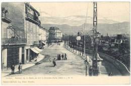 Voiron - Avenue De La Gare, Au Loin La Grande-Sure - Voiron