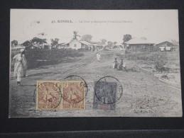 GUINEE FRANCAISE - Kindia - La Rue Principale - 1908 - A Voir - Lot P14708 - Guinée Française