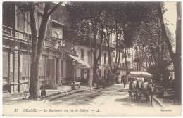 Grasse - Le Boulevard Du Jeu De Ballon ( Attelage ) - Grasse