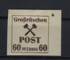 Lokalausgaben Gro�r�schen Michel No. 42 z ** postfrisch