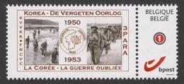 2013 - DUOSTAMPS ** - KOREA - COREE / GUERRE Oubliée - Vergeten Oorlog 60 Jaar - Belgique