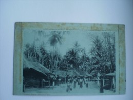 Asia // Unknown Where // Lettercard!! Ceylon - Sri Lanka ?? // Street Scene - Grand Pass // Ca 1899 - Cartes Postales
