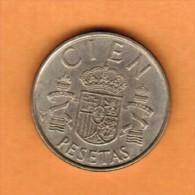 SPAIN   100 PESETAS 1982  (KM # 826) - [ 5] 1949-… : Kingdom